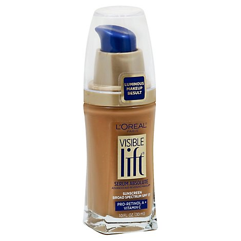 Loreal Visible Lift Serum Classic Tan - 1 Oz