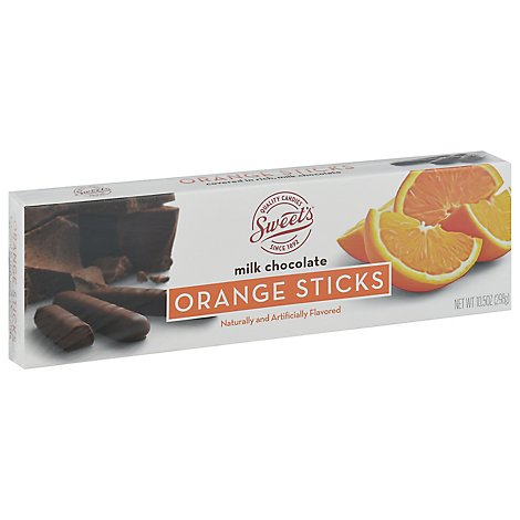 Swe Milk Chocolate Orange Sticks - 10.5 Oz