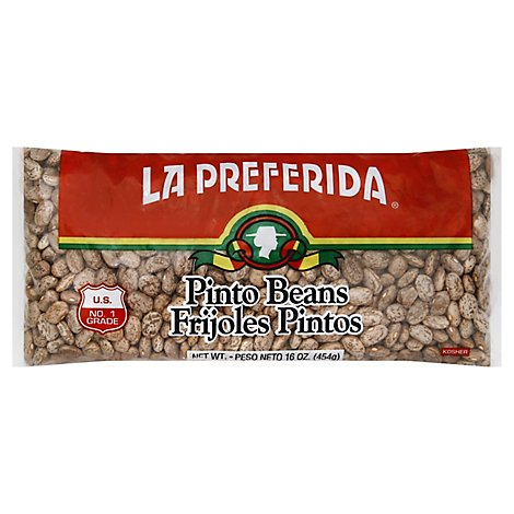 La Preferida Beans Pinto Bag - 16 Oz