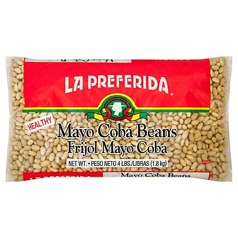 La Preferida Beans Mayo Coba Bag - 64 Oz