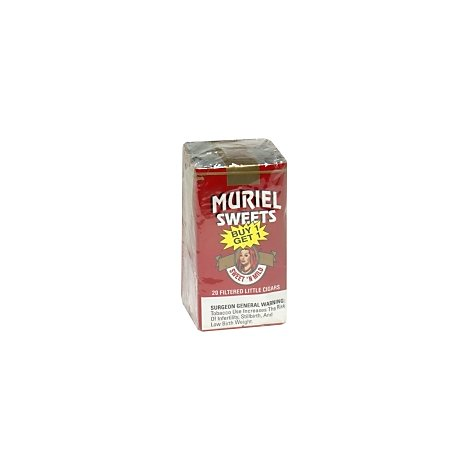 Muriel Lil Cigar Sweet & Mild - 20 Count