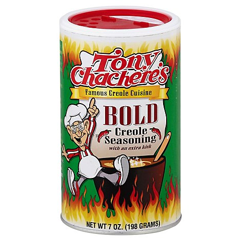 Tony Chacheres Seasoning Creole Bold - 7 Oz