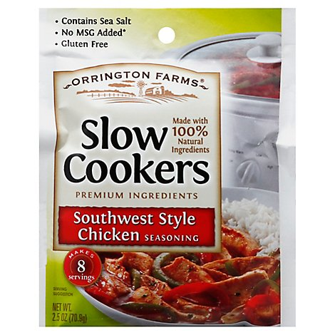 Orrington Farms Slow Cookers Seasoning Southwest Style Chicken - 2.5 Oz