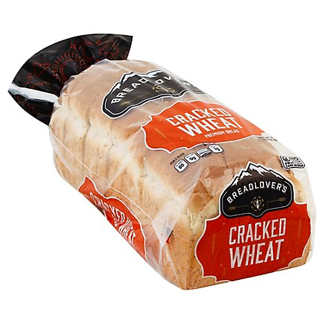 BreadLovers Bread Cracked Wheat - 24 Oz
