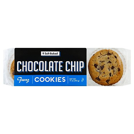 Franz Cookies Chocolate Chip - 10 Oz