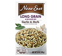 Near East Rice Mix Long Grain & Wild Garlic & Herb Box - 5.9 Oz