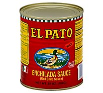 El Pato Sauce Enchilada Red Chili Can - 28 Oz