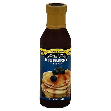 Walden Farms Syrup Calorie Free Bluberry - 12 Oz