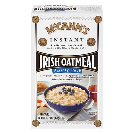 McCanns Oatmeal Irish Instant Variety Pack - 10 Count