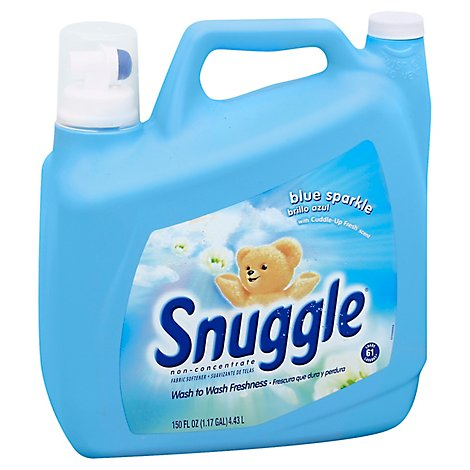 Snuggle Fabric Softener Blue Sparkle Jug - 150 Fl. Oz.