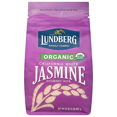 Lundberg Essences Rice Organic White California Jasmine - 32 Oz
