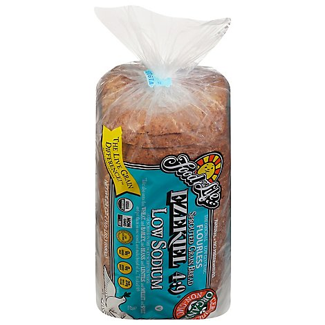 Food For Life Low Sodium Ezekiel Bread 24 Oz Acme Markets