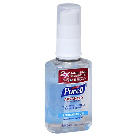 Purell Hand Sanitizer Advanced Refreshing Gel - 2 Fl. Oz.
