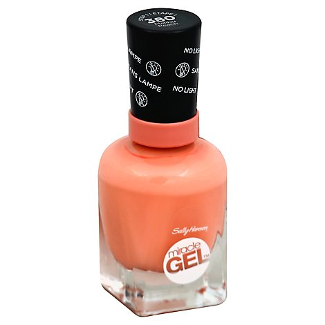 Sally Hansen Gel Nail Miracle Mlbu Peach - .50 Oz