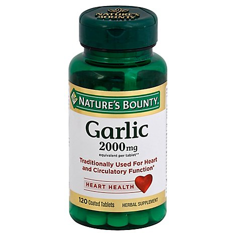 Ntrs Bnty Galic 2000mg Odrls T 120 Ct - 120 Count