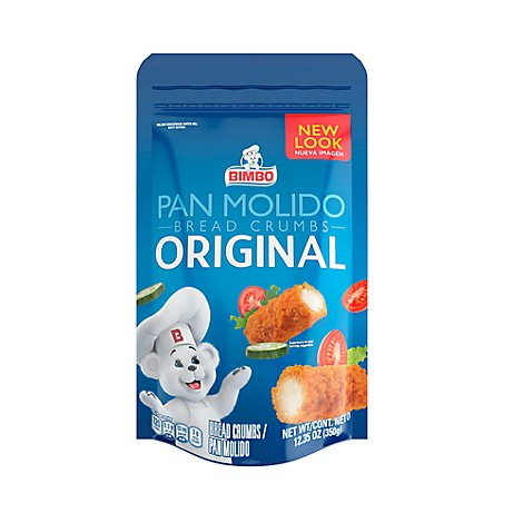 Bimbo Bread Crumbs Original - 12.35 Oz