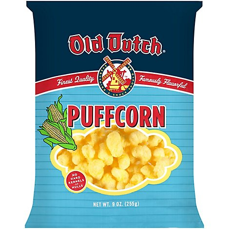 Old Dutch Puffcorn Curls - 8 Oz