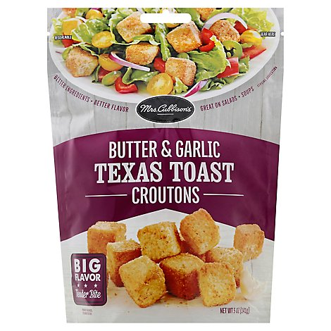 Mrs Cubbisons Croutons Butter & Garlic - 5 Oz