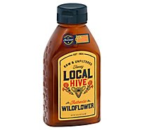 Local Hive Honey Raw & Unfiltered Authentic Wildflower - 16 Oz