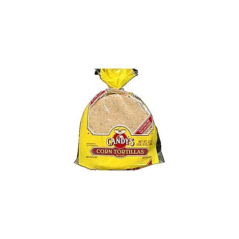 Candys Tortillas Corn Econo Pack Bag 26 Count - 24 Oz
