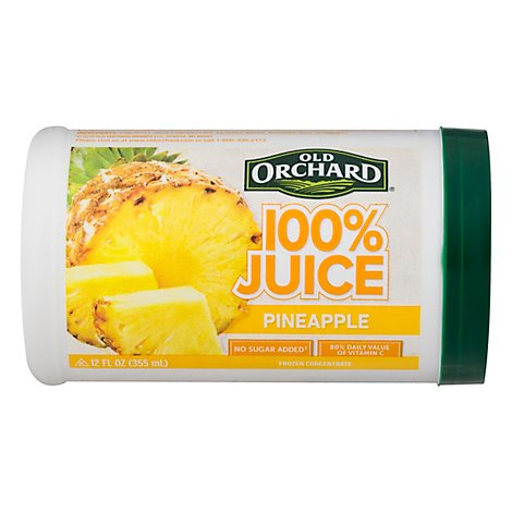 Old Orchard Juice Frozen Concentrate Pineapple - 12 Fl. Oz.