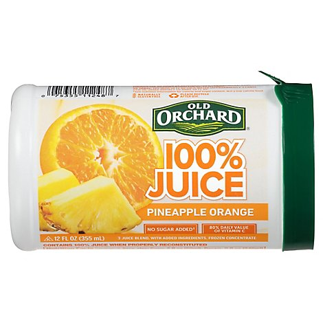 Old Orchard Juice Frozen Concentrate Pineapple Orange - 12 Fl. Oz.