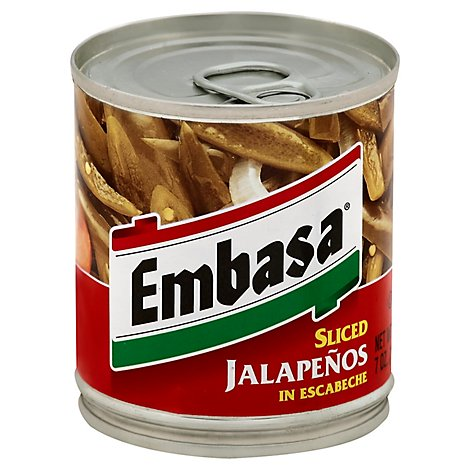 Embasa Jalapenos Sliced in Escabeche Can - 7 Oz