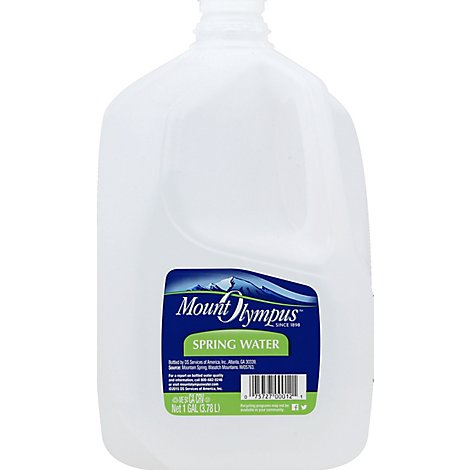 Mount Olympus Spring Water - 1 Gallon