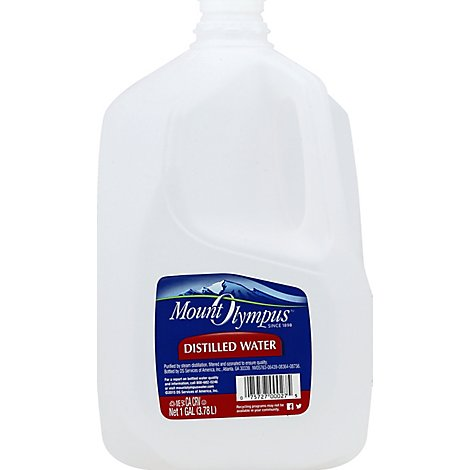 Mount Olympus Distilled Water - 1 Gallon