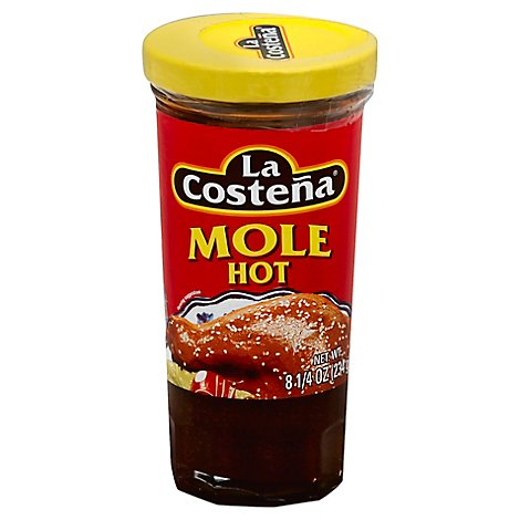 La Costena Mole Hot Jar - 8.25 Oz