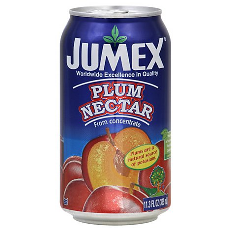 Jumex Nectar From Concentrate Plum Can - 11.3 Fl. Oz.