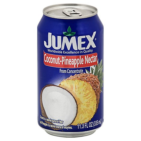 Jumex Nectar From Concentrate Coconut-Pineapple Can - 11.3 Fl. Oz.