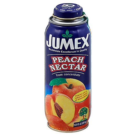 Jumex Nectar From Concentrate Peach Bottle - 16.9 Fl. Oz.