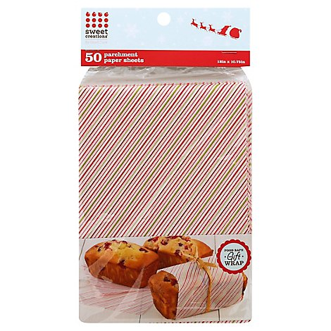 Good Cook Sweet Creations Parchment Paper Sheets Gift Wrap 50 Count - Each