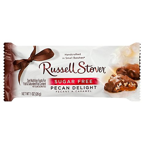 Russell Stover Sugar Free Pecan Delight Bar - 1 Oz