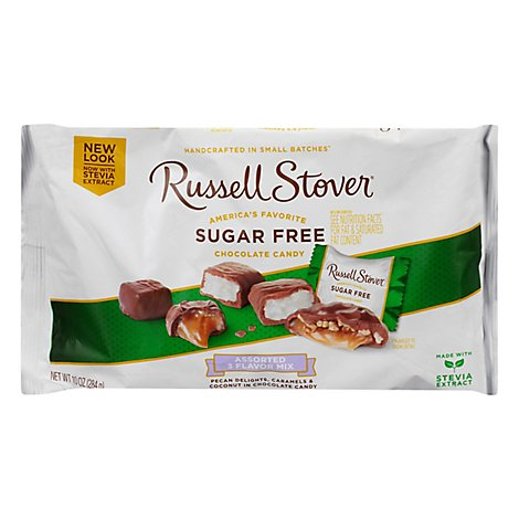Russell Stover Multi-Flavor Bag Sugar Free - 10 Oz