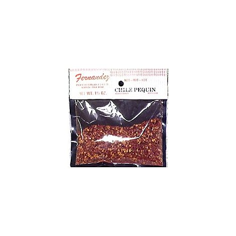 Fernendez Specialty Food Chile Pequin Crushed - 1.5 Oz