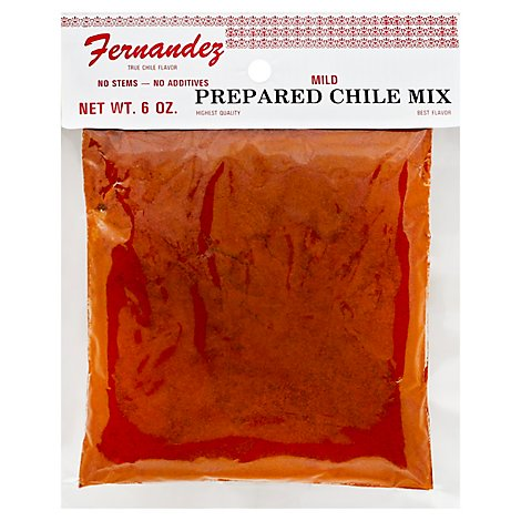 Fernendez Specialty Food Chile Prepared - 6 Oz