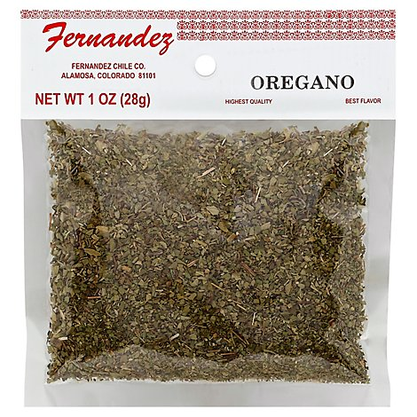 Fernendez Specialty Food Oregano - 1 Oz