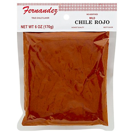 Fernendez Specialty Food Chile Rojo - 6 Oz