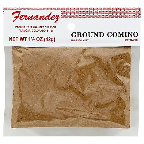 Fernendez Specialty Food Comino Ground - 1.5 Oz