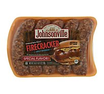 Johnsonville Brats Firecracker Spicy Sausage 5 Links - 19 Oz