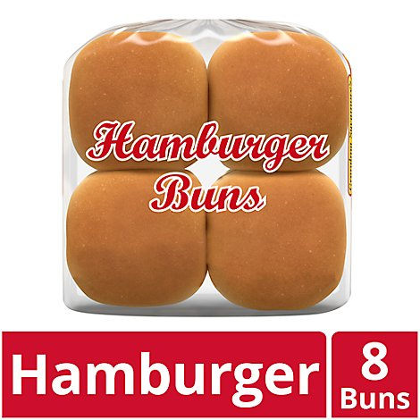 Grandma Sycamores Bread Hamburger Buns 8 Count - 18 Oz
