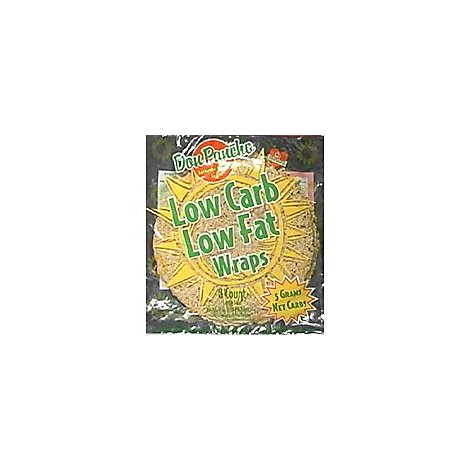 Don Pancho Wraps Low Carb Low Fat Bag 8 Count - 17 Oz
