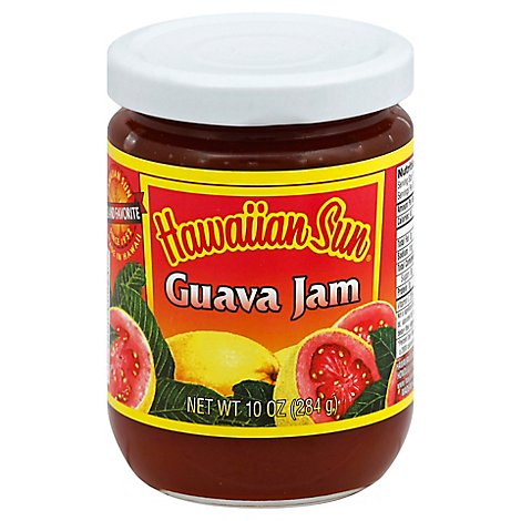 Hawaiian Sun Jam Guava - 10 Oz