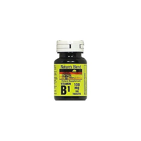 Vitamin B1 100 Mg 100 Mg - 1 Each