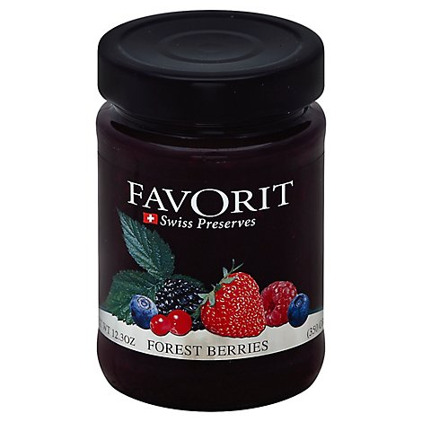 Favorit Preserves Swiss Forest Berries - 12.3 Oz