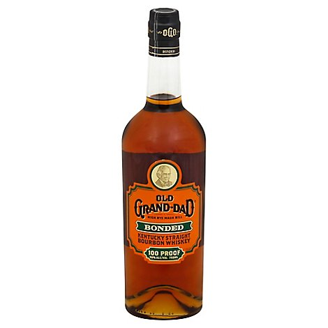 Old Grand-Dad Bonded Kentucky Straight Bourbon Whiskey 100 Proof - 750 Ml