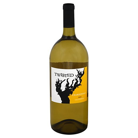 Twisted Chardonnay Wine - 1.5 Liter