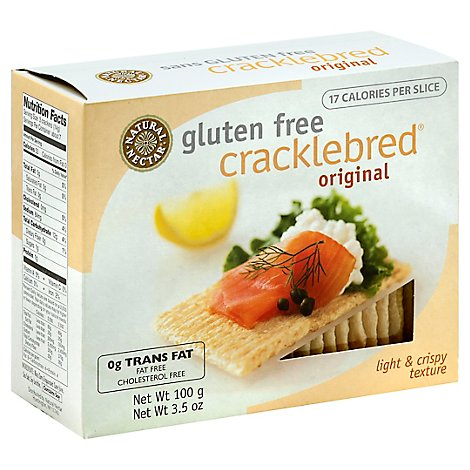 Natural Ne Cracklebread Orgn - 3.5 Oz